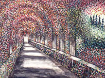 Arbor in Giverny
